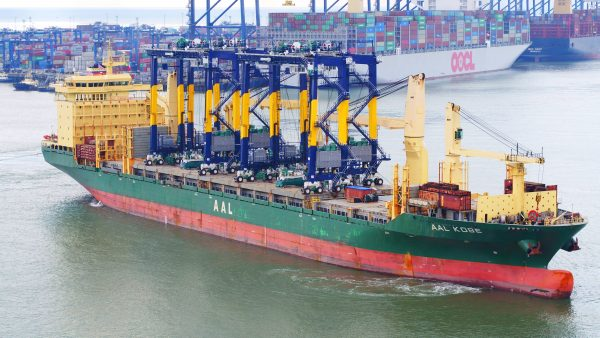 Remote Controlled RTGs at the Port of Felixstowe