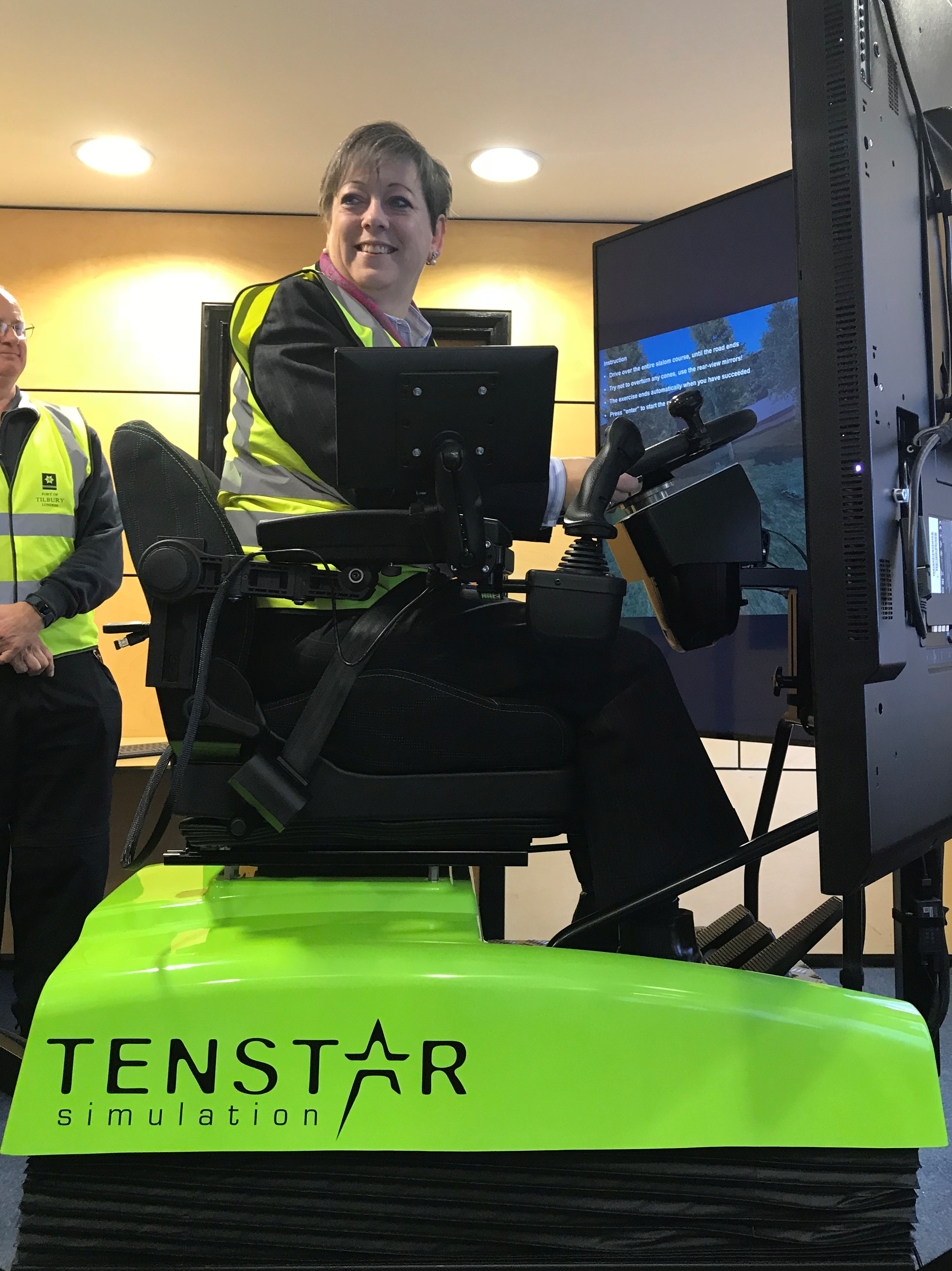 State of the art 'fully immersive' training simulator welcomed across the quayside at Port of Tilbury.