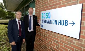 Secretary of State for Transport with Hon Chris Grayling MP visiting Port of Tyne to open the 2050 Innovation Hub