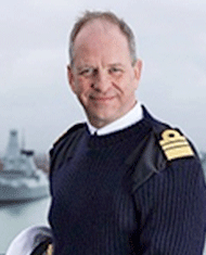 Vice Admiral Jerry Kyd CBE