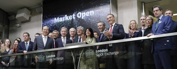 LISW19 OFFICIALLY BEGINS WITH MARKET OPENING OF THE LONDON STOCK EXCHANGE