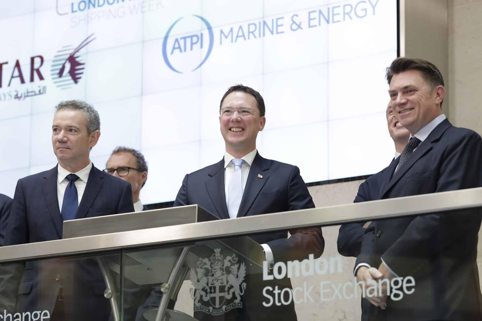 ATPI Marine & Energy and Qatar Airways open London International Shipping Week